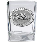 SQUARE SHOT GLASSES W/ OLE MIS