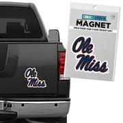 MAGNET WITH OLE MISS IN SCRIPT