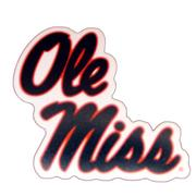 SMALL MAGNET WITH OLE MISS