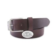 OLE MISS LEATHER BELT