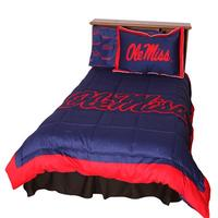 OLE MISS COMFORTER SET