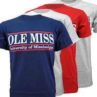 OLE MISS GAME BAR TEE