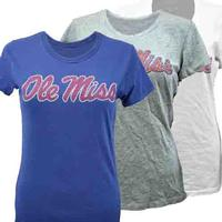 LADIES MISSY VINTAGE OLE MISS