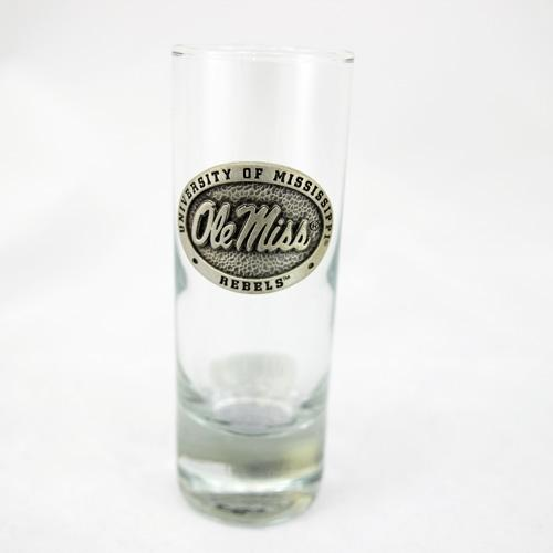 Ole Miss Cordial Shot Glass