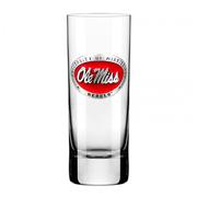 RED OLE MISS CORDIAL SHOT GLAS