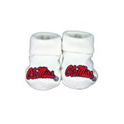 OLE MISS BOXED BOOTEES