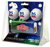 3 BALL GIFT PACK WITH HAT CLIP