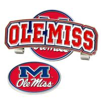 OLE MISS HAT CLIP BALL MARKER