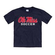 YOUTH OLE MISS SOCCER TEE