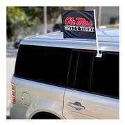 NAVY OLE MISS HOTTY TODDY CAR FLAG