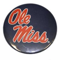NAVY STACKED SCRIPT OLE MISS B