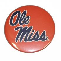 RED STACKED SCRIPT OLE MISS BU