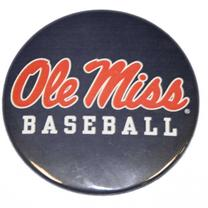 NAVY OLE MISS BASEBALL BUTTON