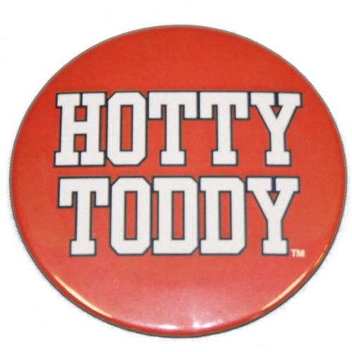 Red Hotty Toddy Button