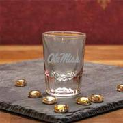 OLE MISS CLEAR SHOT GLASS