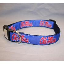 NYLON DOG COLLAR  NAVY XS