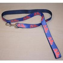 NYLON DOG LEASH  NAVY 4FT
