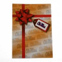 OLE MISS BIRTHDAY PRESENT CARD