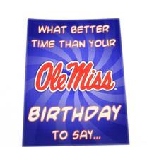 GO REBELS BIRTHDAY CARD