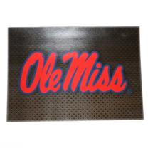 BLANK BROWN GRAY OLE MISS CARD