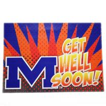 OLE MISS GET WELL CARD