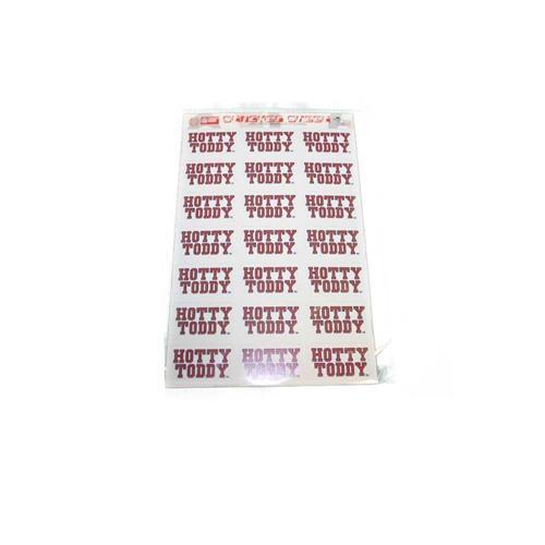 Sticker Sheet Hotty Toddy 21ct