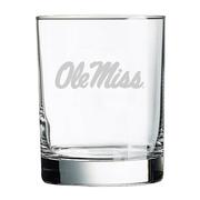 14OZ OLE MISS DOUBLE OLD FASHI